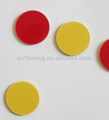 colorful plastic token