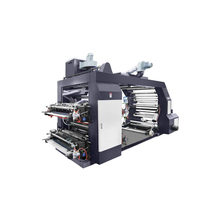 2,4,6 color flexo printing machine machines on plastic/non-woven bag