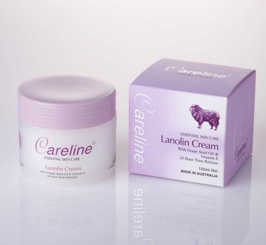 Lanolin Cream with Grapeseed oil & Vitamin E 100ml