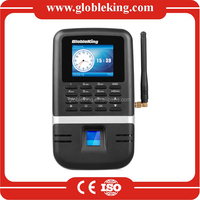 GPRS biometric time recording device fingerprint time attendance system with sim card