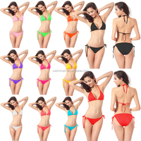 Wholesale 11 Colors Cheap 2015 Promotion Models Sexy girls Black Bikini
