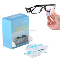 easy cleaning anti-fog wet wipes glass cleaning wipes fogging prevent cloth