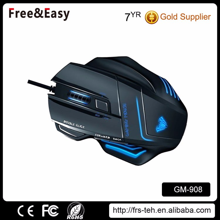 DPI adjustable wired optical 7D mouse gaming
