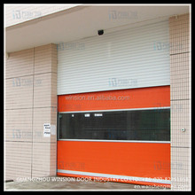 Made in Cihna finishing surface rapid iterior pvc screen design automatic rolling door