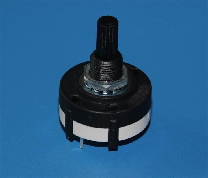 HW-RS25 Plastic shaft Rotary Switch and Hongwang 2 pole 3 position rotary switch