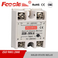 high quality new white single phase 220vac electronic relay ssr-10aa