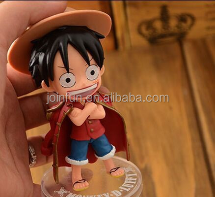 japanese Anime plastic One Piece Figurine ,pvc anime figurine,accessories action figurine