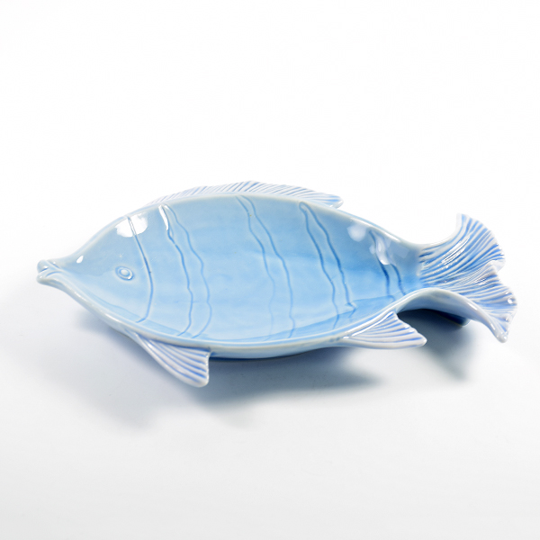 Custom made dinnerware plates housewares porcelain fish shaped dishes