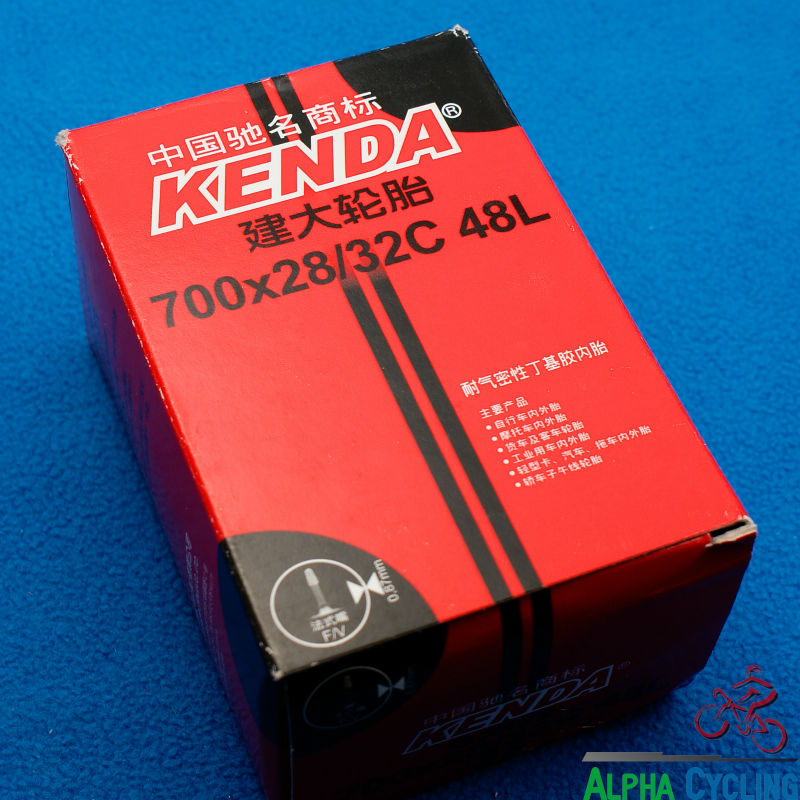 KENDA bicycle inner tube 0.87mm 29x28/32C 48L F/V, Presta Valve, MTB and XC Bicycle Tubes