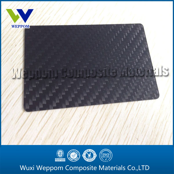 Carbon Fiber Business Cards With Optional Personalization