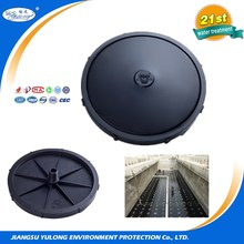 fine bubble air diffuser plate for waste treatment aeration pond