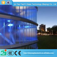 China manufacturer safety reeded glass
