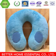 Memory Foam Speaker Neck Pillow