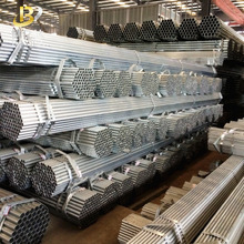 Astm a53 sch 20 40 2 inch 4 inch 5 inch 6 inch 60mm 50mm carbon st37 Erw pre galvanized steel pipe / tube price