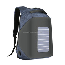 20Inch Waterproof Solar Bag ChargeAnti-theft Backpack for Laptop Travel Business School Backpack for College Students