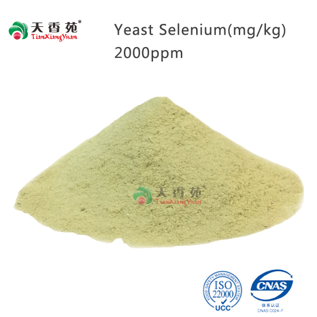 TXY selenium yeast 2000PPM organic selenium for feed additive grade Saccharomyces cerevisiae animal feed