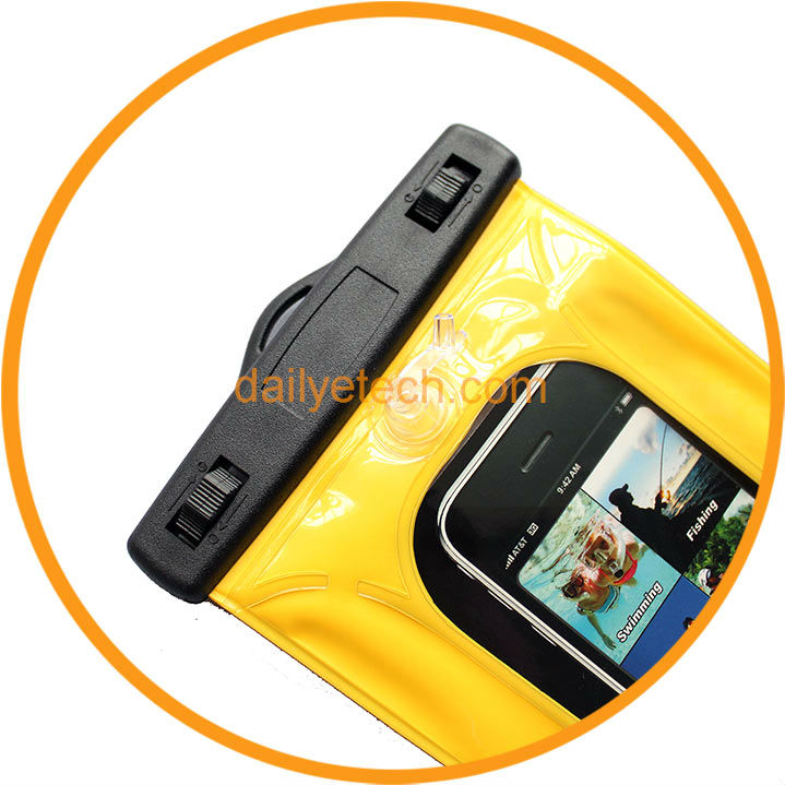 New Sport Swiming Diving PVC Waterproof Bag for iPhone 5 4S 4 3G from Dailyetech CE ROHS IPX8 Certificate