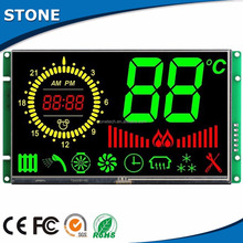 Chiese largest manufacturer high brightness sunlight readable lcd with UART port