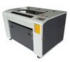 Jinan manufacturer DRK 4060 80w mini laser engraving and cutting machine for leather to make bag and shoes