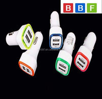 Universal Car Charger LED Light Car Charger Adapter Dual USB Port 3.1A Universal For iphone Samsung