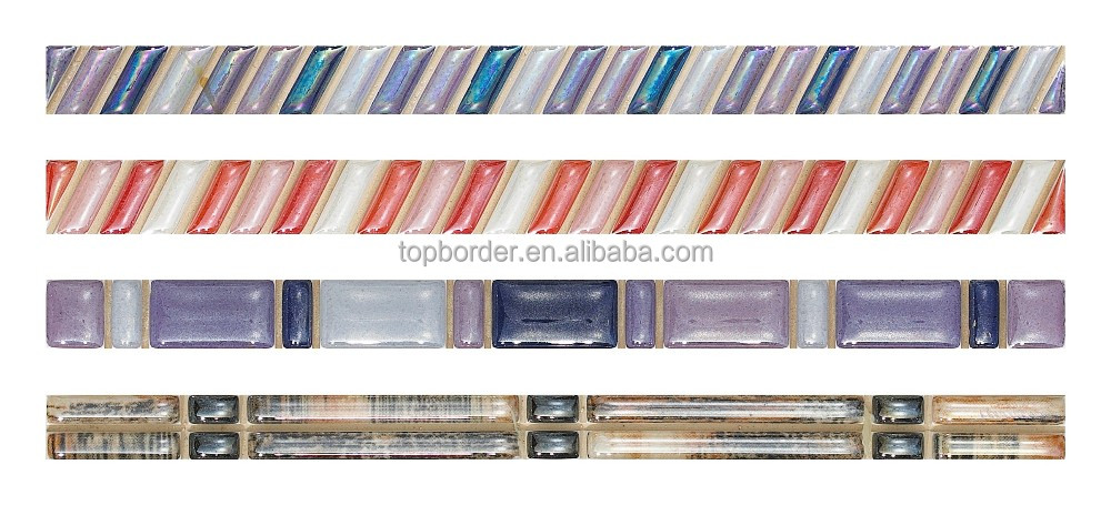foshan ceramic glass listello