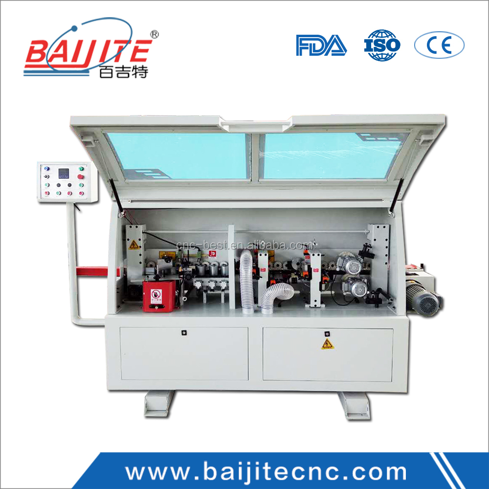 semi auto edge banding machine with factory price high precision CE&ISO9001