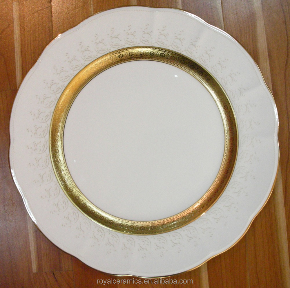 2016 latest most elegant bone china gold rim dinner plate & List Manufacturers of Tin Dinner Plates Buy Tin Dinner Plates Get ...