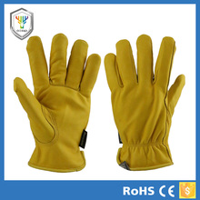 Winter motrocycle glove leather winter hunting shooting gloves