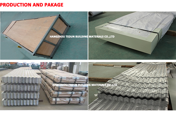 prepainted galvanized steel sheet / corrugated prepainted galvanized steel sheet