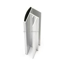 Colored Powder Coated Furniture Aluminium Extrusion Profiles, 6000 series material for Office Furniture
