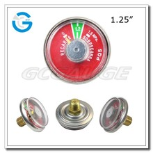 High Quality Spring Tube Pressure Gauges For Fire Extinguisher