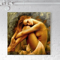 fashion high quality picture nude women painting