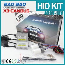 100% possitive feedback xenon super vision hid 5000k h7 Auto AC 35 watt slim canbus hid conversion kit made in china
