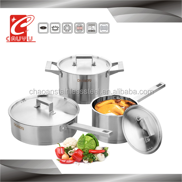 importers of stainless steel kitchenware sauce pan