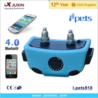 New I-Phone Bluetooth Rechargeable Waterproof Shock Vibrate Remote Dog Pet Training Collar
