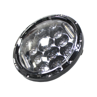 "IP67 DRL HI LOW beam 7"" inch round 75W 12V 24V h4 sealed beam headlight for Atv Utv Truck Cars"