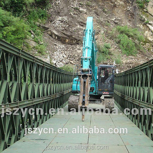 compact 100/200 bailey bridge, Portable Steel Bridge with high quality and best price from China manufacturer