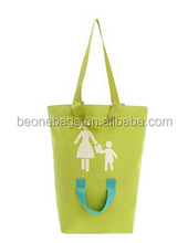 Foldable Recyclable Endurable Logo Printing Shopping Holder Bag