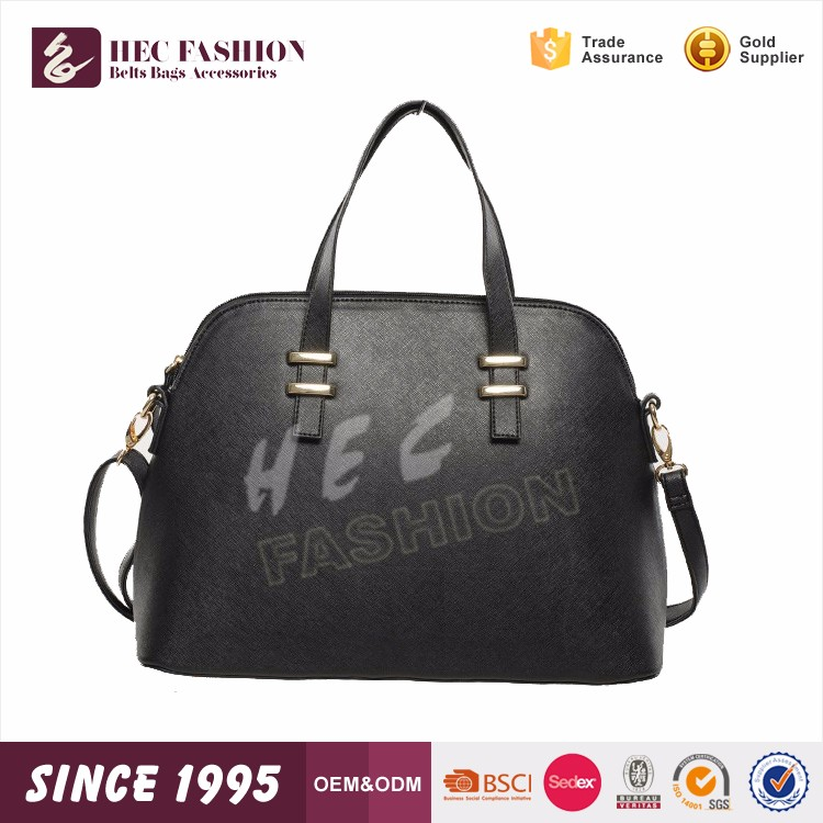 HEC Best Sale 2016 New Design Fashion Style Ladies Leather Hand Bag