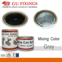 chemical formula of white and black glue mix with metal epoxy floor marble