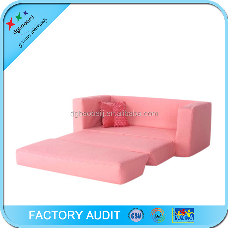 2017 New Design Kids Living Room Furniture Folding Sofa Cum Bed