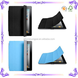 Flip leather case for ipad 3 case with package