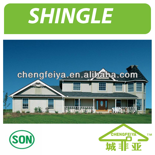 New Material Of Stone Coated Metal Roofing Tile