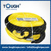 TOUGH ROPE electric winch synthetic 4x4 rope with hook thimble sleeve packed as full set ( electric winch)