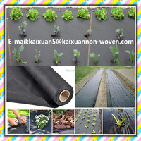 [FACTORY ] Breathable pp nonwoven ground weed barrier cover/weed mat control/17g and 30g Landscape fabric