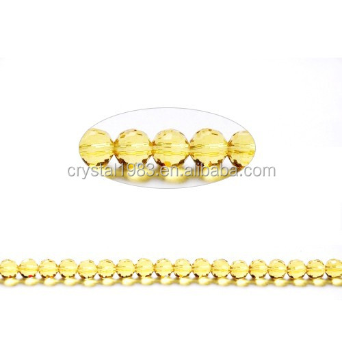 2015 New Style Crystal Glass Bead For Fashion Accessories Wholesale Beads