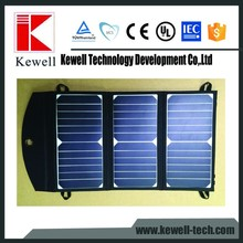 China manufacture cheap hot sale flexible fabric customized shaped folding portable solar panel