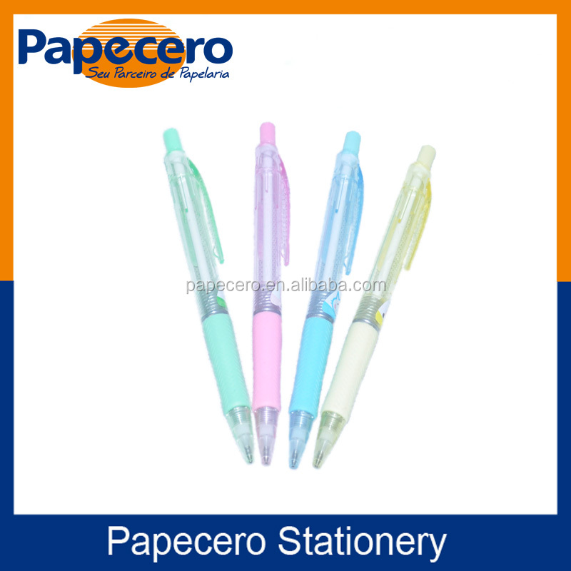 School Supplies Promotional Auto Drawing Push Pencil