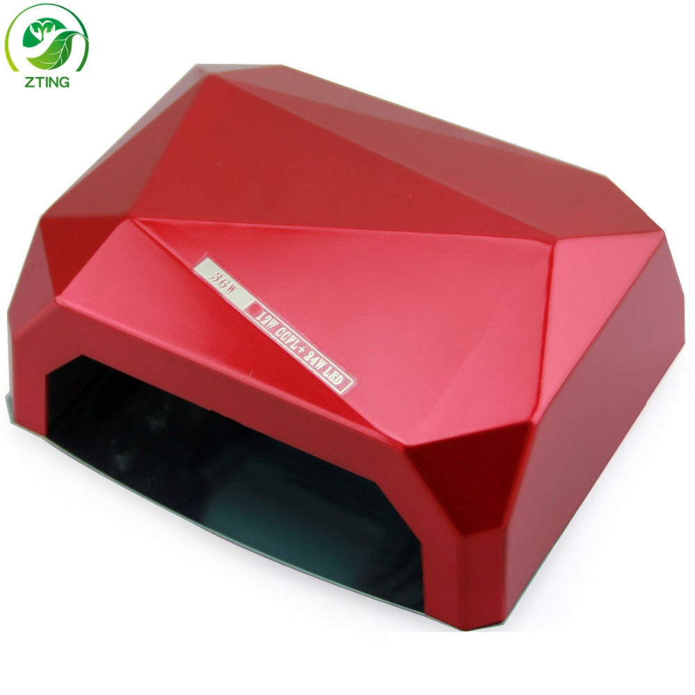 Factory <strong>Price</strong>! new 36w LED+UV Lamp automatic sensor fast drying CCFL+led nail lamp 36
