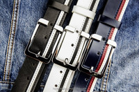 hotsale genuine leather belt, pin buckle belt for men